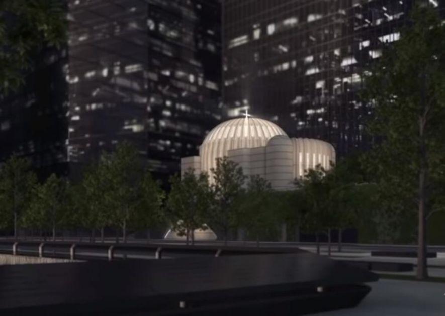 CRKVA SVETOG NIKOLE NIČE U NJUJORKU: Novi pravoslavni hram se gradi na mestu terorističkog napada 11. septembra (VIDEO)