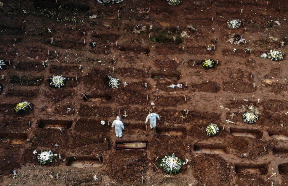 CRNA STATISTIKA U Brazilu od korone preminulo više od POLA MILIONA LJUDI