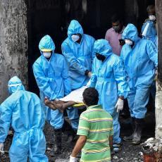 CRNI BILANS KORONE U INDIJI: U poslednja 24 sata zabeleženo rekordnih 1.007 smrtnih slučajeva