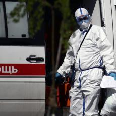 CRNI BILANS KORONE U RUSIJI: Više od 15.000 mrtvih od početka epidemije!