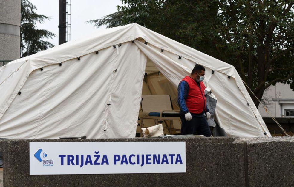 CRNOGORSKA CRNA STATISTIKA: Više od 1.000 preminulih od korone od početka pandemije
