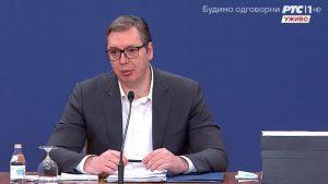CRTA: Vučić se u martu 29 puta obraćao uživo građanima putem medija