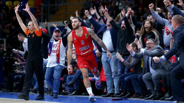Džejms doneo pobedu CSKA, Makabi slavio protiv Bajerna