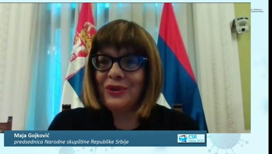 CSR SRBIJA 2020: Maja Gojković: Država je dobro reagovala u teškim vremenima