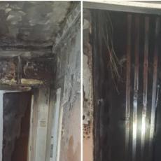 ČULA SE PUCNJAVA! Potresne ispovesti stanara solitera na Novom Beogradu gde je izbio strahoviti požar (FOTO)