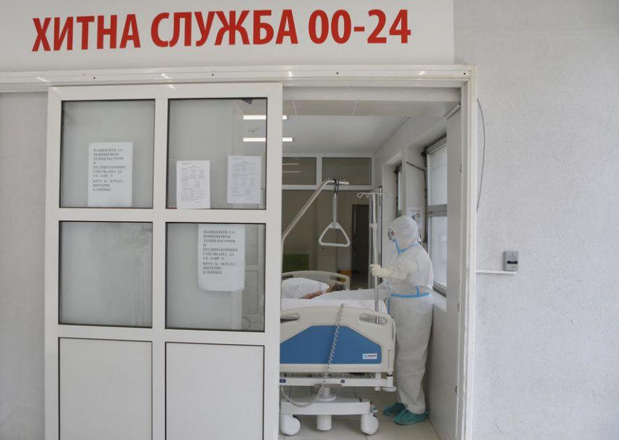 Čačak: Hospitalizovano 200 pacijenata, preminule tri osobe