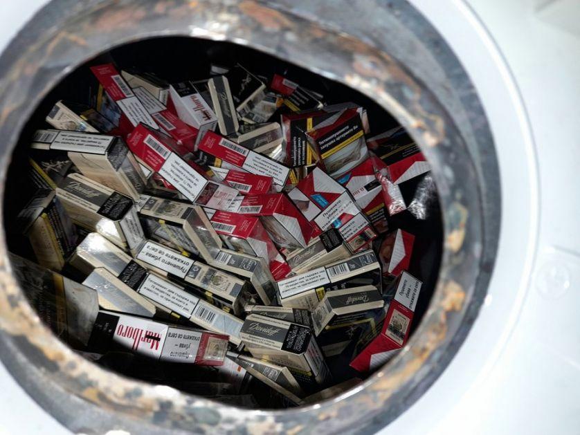 Čak i bojler napunjen paklicama cigareta