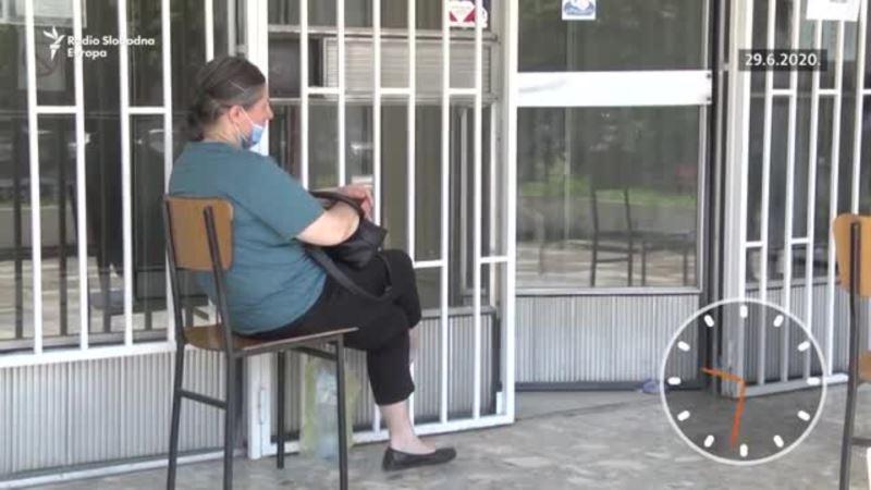 Čekajući testiranje i rezultate na korona virus