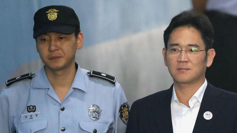 Čelnik Samsunga osuđen na zatvor zbog korupcije