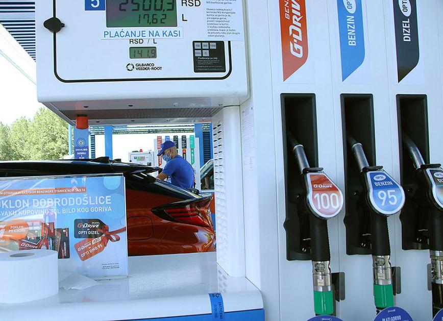 Cene goriva u narednom periodu (AUDIO)