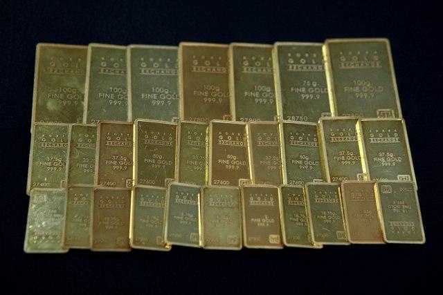 Cene plemenitih metala uzletele u nebo: Novi rekord zlata