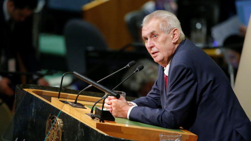 Češki Senat se ogradio od Zemanove izjave o Krimu