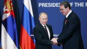 Čestitka Putina Vučiću