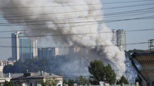 Četiri osobe povređene u požaru u skladištu raketa za vatromet u Moskvi