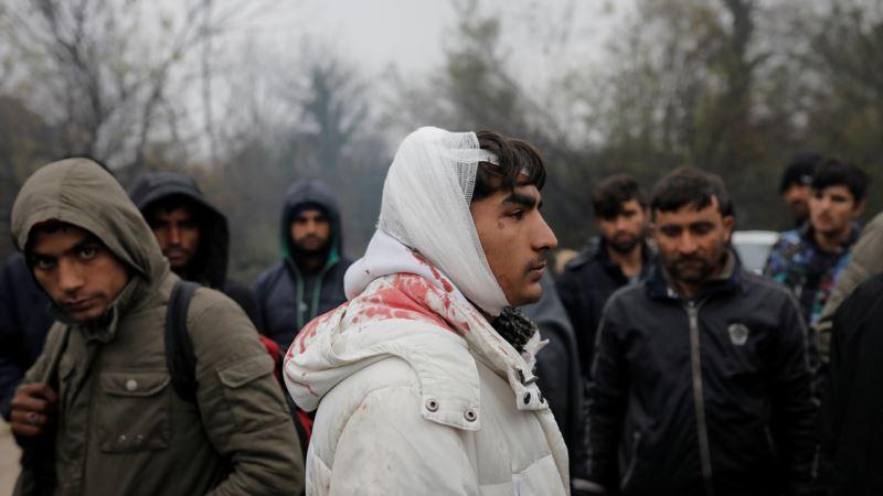 Četiri osobe povrijeđene u sukobu u kampu Vučjak