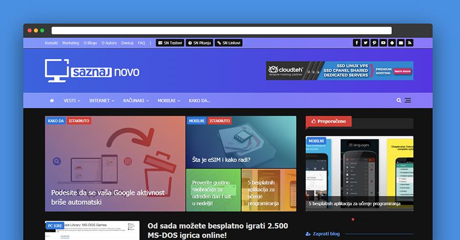 Chrome skrivena opcija: noćni mod za bilo koji sajt!