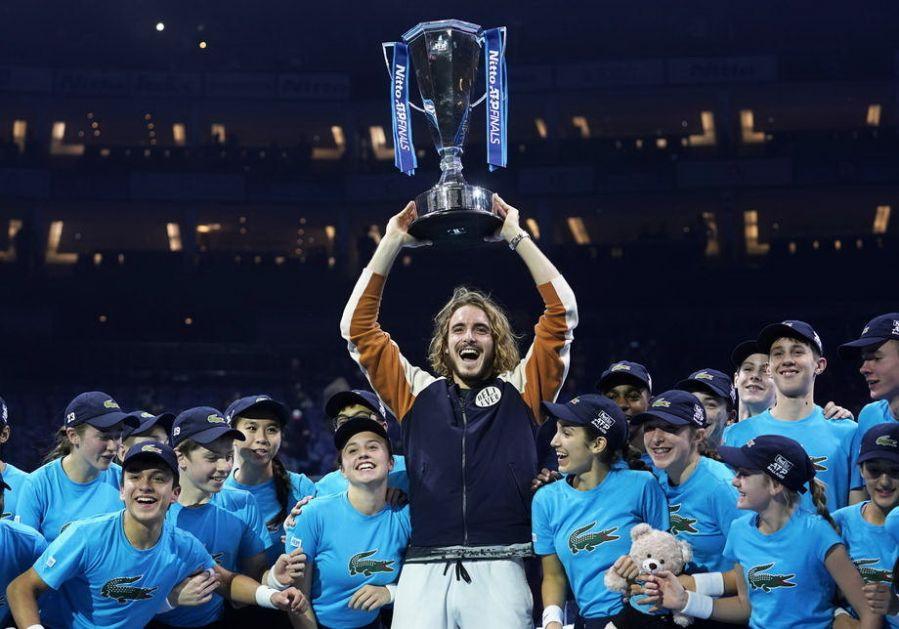 Cicipas osvojio završni Masters u Londonu