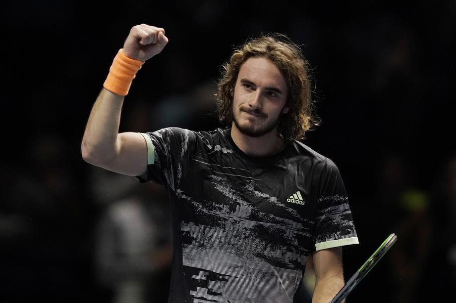 Cicipas u finalu, pobedio Federera