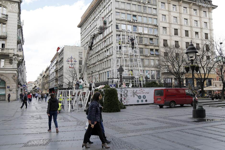 Čije je Plastično čudovište u Knez Mihailovoj ulici?