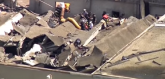 Čikago: Urušio se krov fabrike, ima povređenih VIDEO