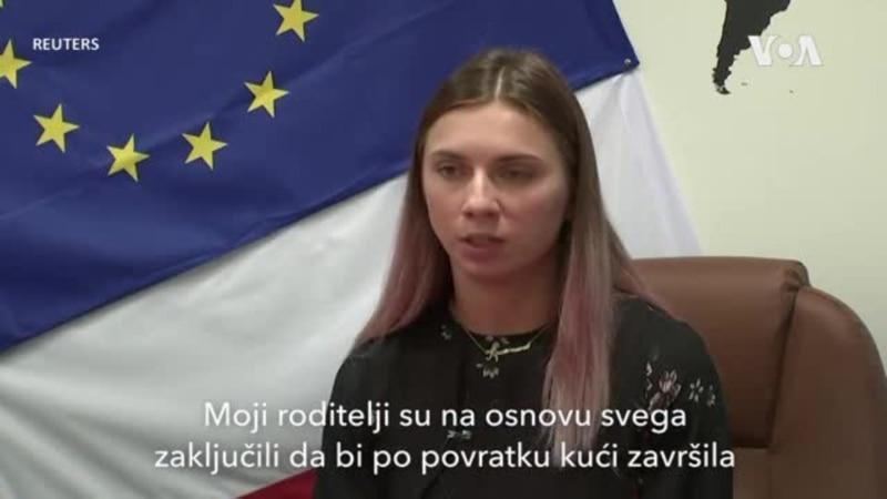 Timanovskaja: Završila bih u ludnici ili zatvoru