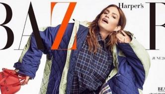 Cindy Crawford u kariranom izdanju za Harpers Bazaar