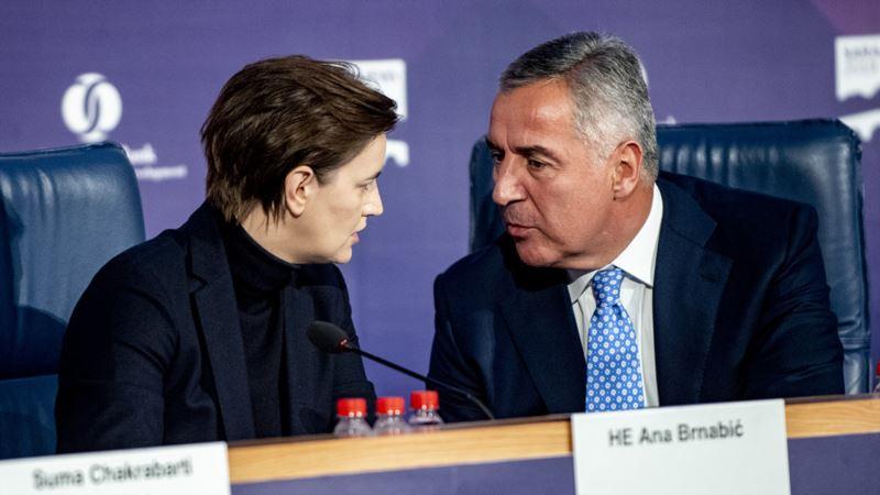 Civilni sektor poziva na smirivanje tenzija između Srbije i CG