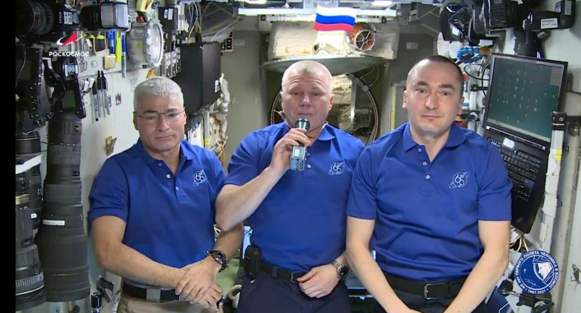 Članovi posade Međunarodne kosmičke stanice čestitali Dan pobede