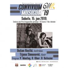 Convivium musicum 19: Dusan Kostic, Tijana Simonovic