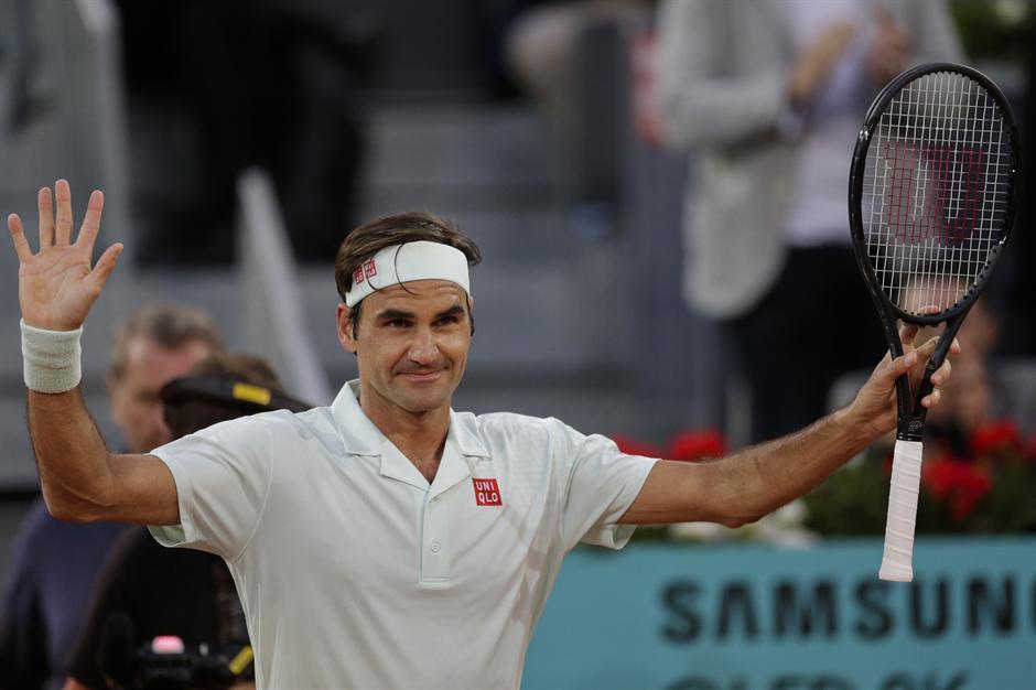 Ćorić propustio dve meč lopte - Federer u četvrtfinalu