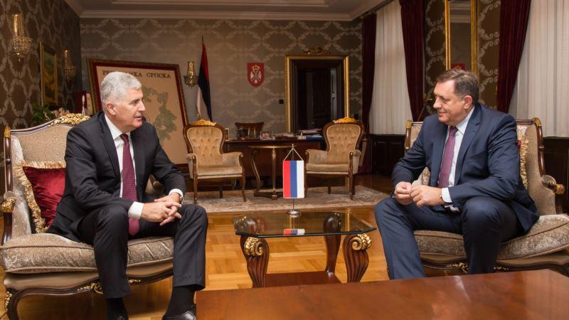 Čović nakon sastanka sa Dodikom: Krajnje je vrijeme da se uspostavi Vijeće ministara
