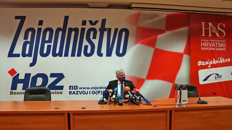 Čović sa izaslanstvom Hrvatske u Mostaru