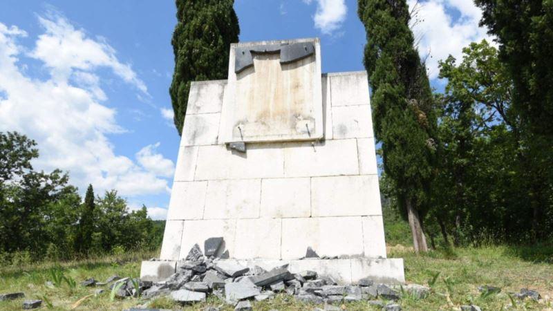 Crna Gora: Uhapšen mladić zbog skrnavljenja antifašističkog spomenika