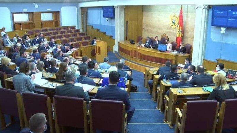 Crna Gora: Završena rasprava o Zakonu o državnom tužilaštvu, opozicija napustila sjednicu