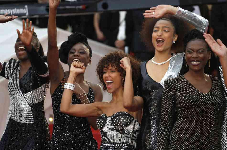 Crne glumice na kanskom crvenom tepihu protiv diskriminacije