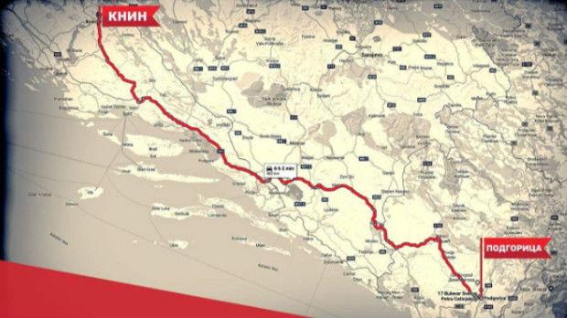 Crnogorski put izvinjenja u Knin