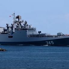 Crnomorska flota isplovila u Indijski okean: Neprijatelj uspešno neutralizovan (VIDEO)