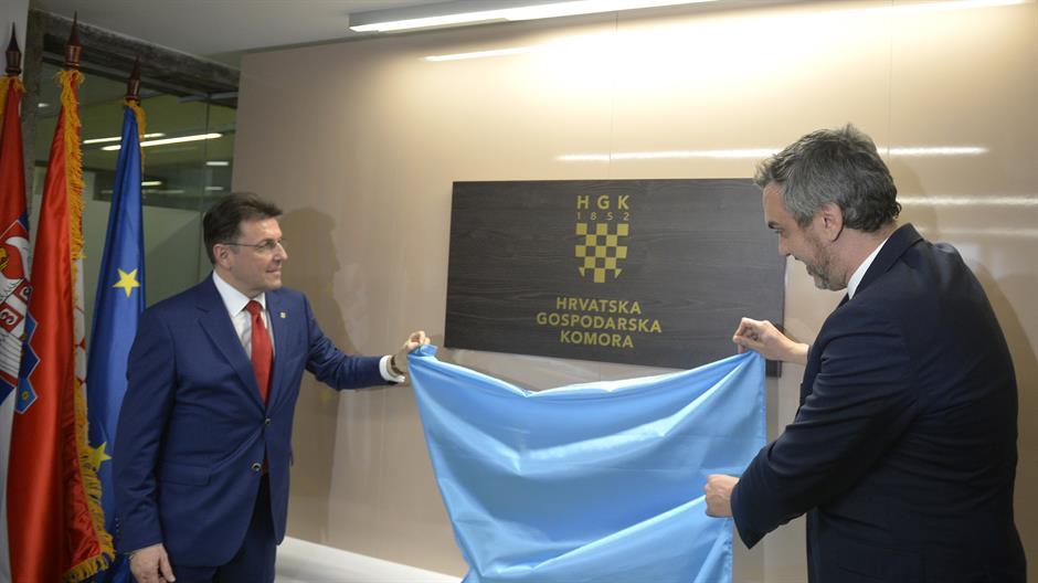 Croatian Economic Chamber opens office in Belgrade