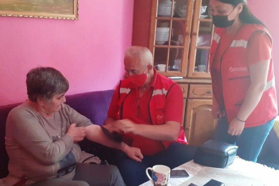 Crveni krst Bijelo Polje organizuje kućne posjete starijim osobama