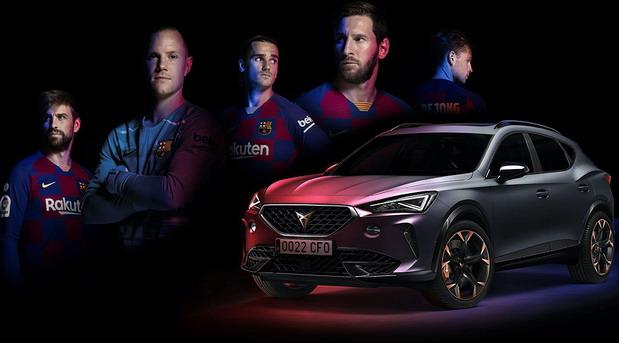 Cupra Formentor je novi službeni auto FC Barcelona