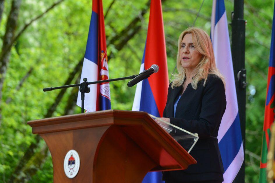 Cvijanović: Nema oblasti gde nema saradnje izmedu Republike Srpske i Srbije