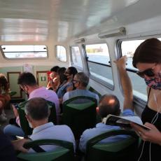 DA LI BISTE IŠLI REKOM NA POSAO? Opipava se puls Beograđana oko uvođenjaprevoza putnika vodom