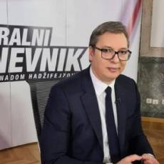 DA LI BISTE PRIZNALI KOSOVO? Predsednik Vučić bez pardona odgovorio na sramnu provokaciju Hadžifejzovića