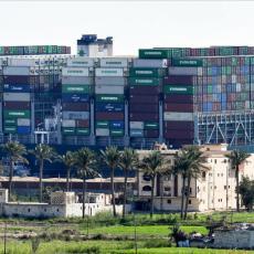 DA LI JE OVO NAJSKUPLJA GREŠKA U ISTORIJI? Egipat zahteva odštetu zbog blokade Sueckog kanala, od nula boli glava