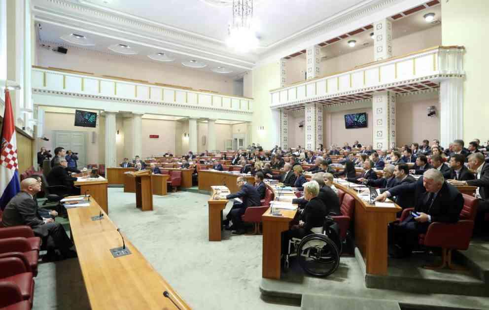 DA LI PADA VLADA: Hrvatski sabor večeras glasa o poverenju Plenkoviću i njegovim ministrima!