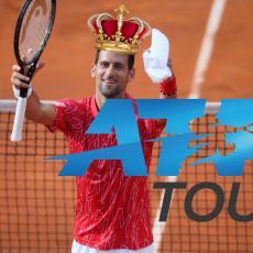 DA LI STE VIDELI NOVU ATP LISTU? Pa, ovo je FANTAZIJA, Nole na večnoj listi stigao Federera