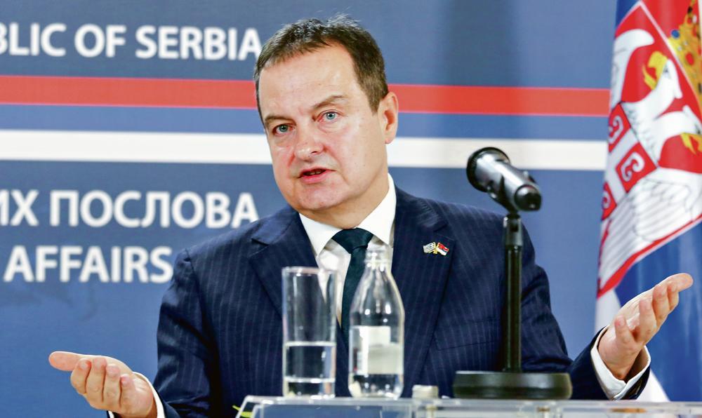 DAČIĆ: Kampanja povlačenja priznanja Kosova državni projekat u koji nisu uključena privatna lica