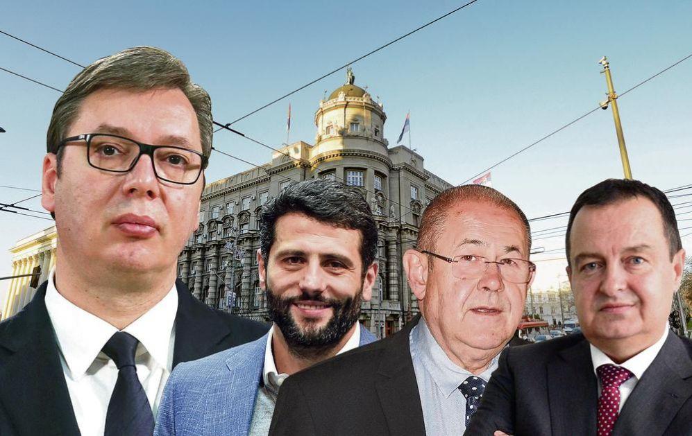 DANI ODLUKE: Aleksandar Vučić razgovor o vladi nastavlja prvo s manjinama, Dačić poslednji