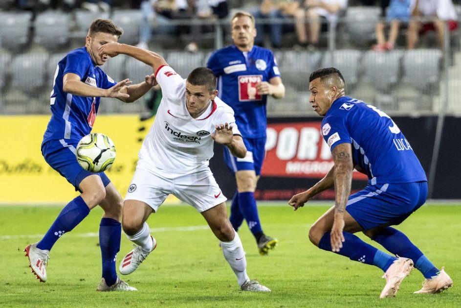 DEBI IZ SNOVA BIVŠEG IGRAČA ZVEZDE: Joveljić pogodio za Ajntraht iz Frankfurta posle samo sedam minuta na terenu! (VIDEO)