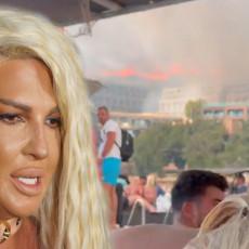 DECA SU SE VEOMA UPLAŠILA JK objavila još jedan DRAMATIČAN snimak nastao usred požara! Potresna poruka